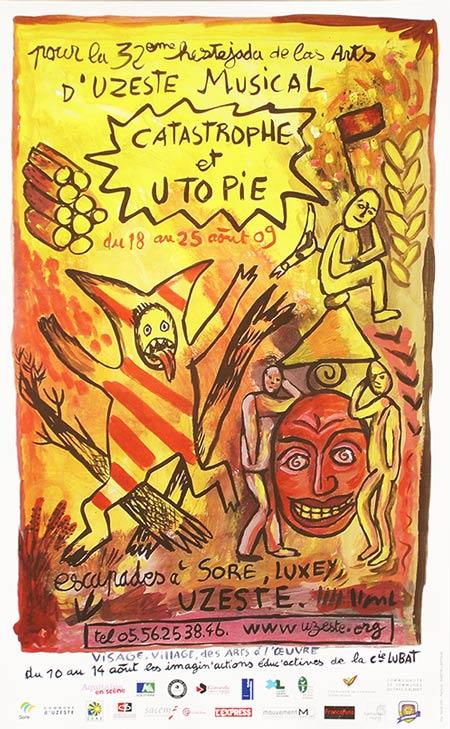 Affiche 32e Hestejada de las arts