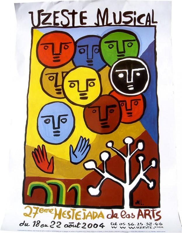 Affiche 27e hestejada de las arts